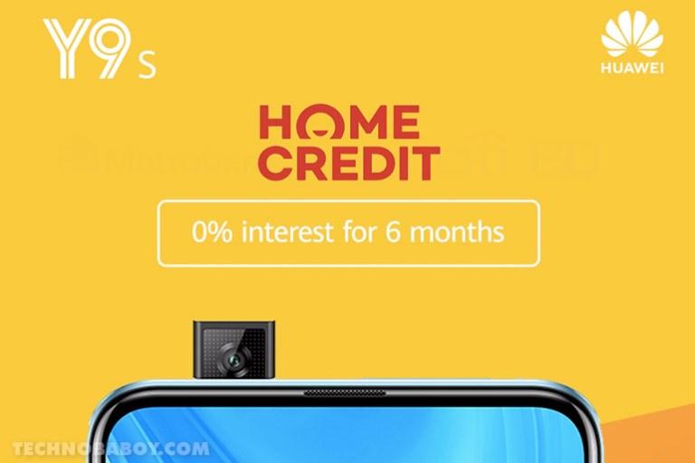 Huawei Y9S Home Credit