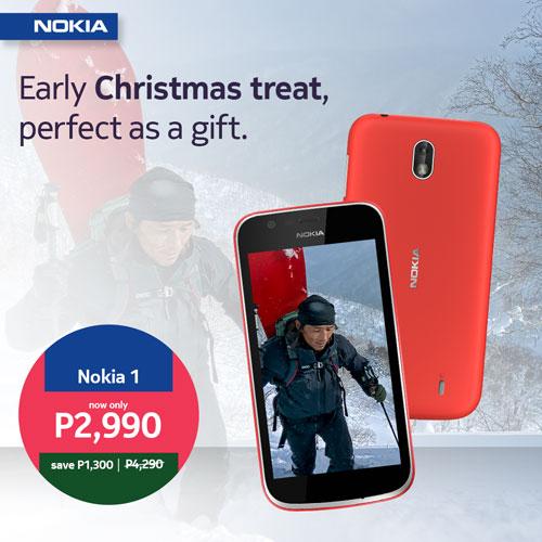 Nokia Christmas Three Promo - Nokia 1