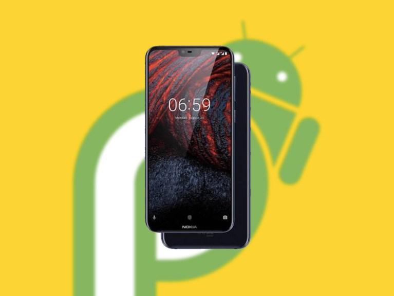 nokia 6.1 plus android pie