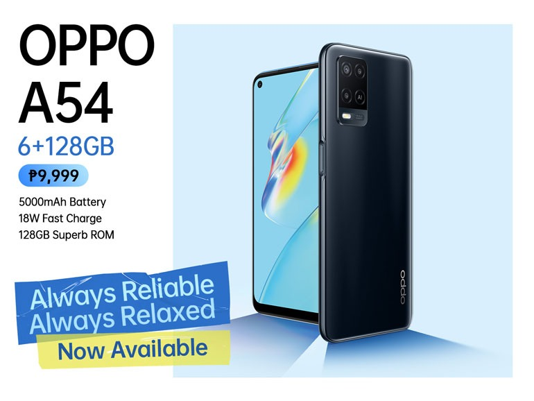OPPO A54 6GB + 128GB Philippines
