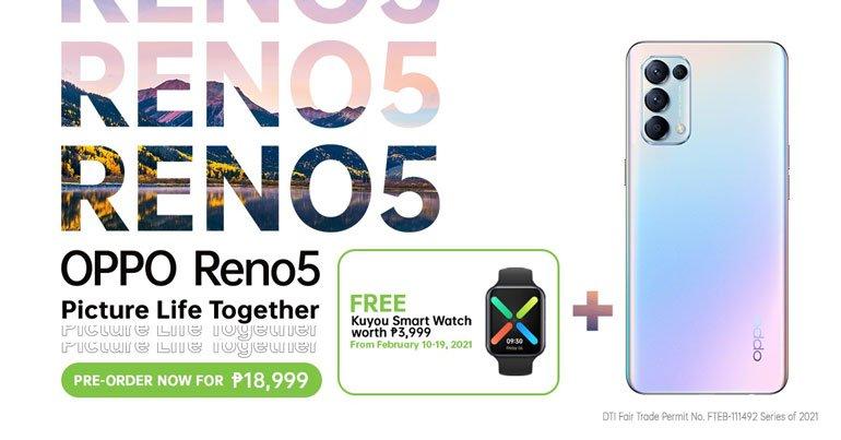 OPPO Reno5 4G Price Philippines