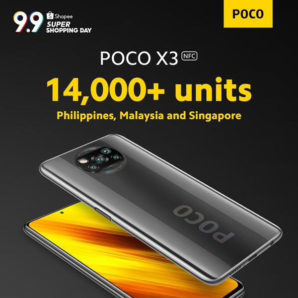 poco x3 nfc sold out in shopee