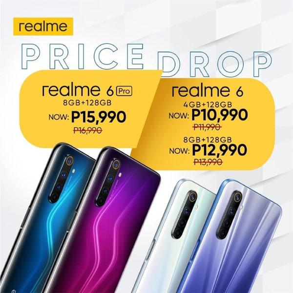 realme 6, realme 6 Pro price drop philippines