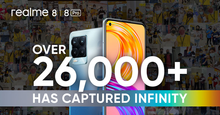 realme 8 series achieves record-breaking first-day sales