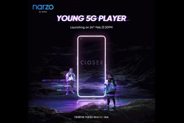 realme Narzo 30 Pro 5G launch date