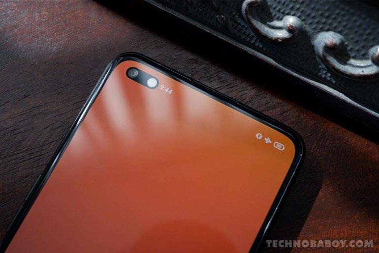 realme X50 Pro 5G selfie cameras