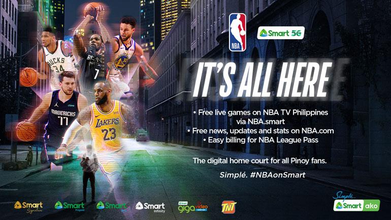 Smart Communications, NBA