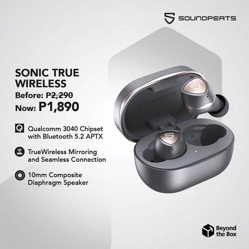SoundPEATS Sonic True Wireless