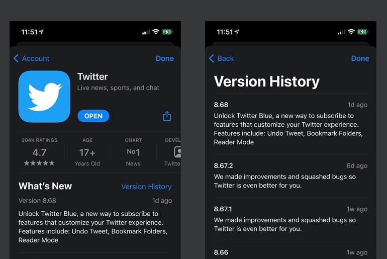 Twitter Blue launch soon