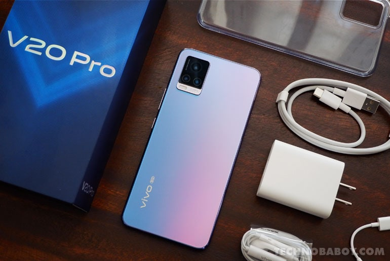 vivo V20 Pro Review - Unboxing and First Impressions