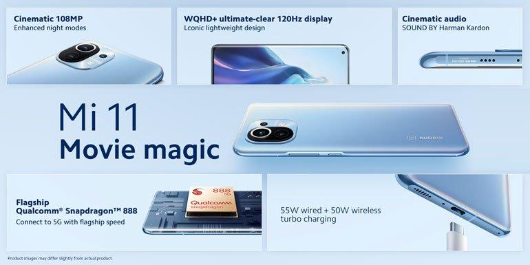 Xiaomi Mi 11 specs official