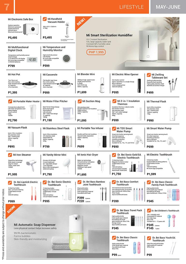 Xiaomi Mi Store Brochure May-June 2020
