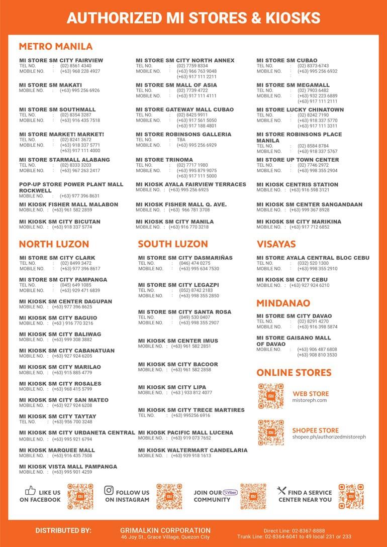 Xiaomi Mi Store Product Brochure Mar/Apr 1