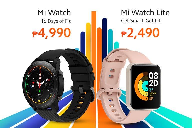 Xiaomi Mi Watch, Mi Watch Lite price philippines