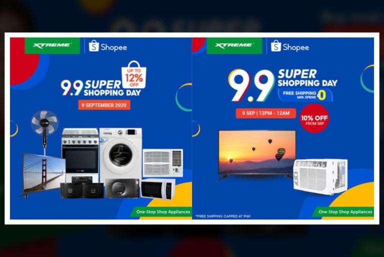 Xtreme Appliances Shopee 9.9