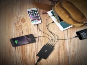 TechnoBlitz.it Aukey: recensione caricatore PA-T15 a 5 porte USB