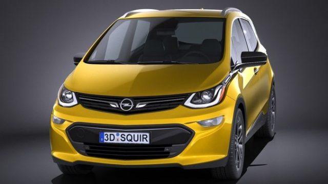 TechnoBlitz.it Opel Ampera-e, 150 Km di autonomia in 30 minuti