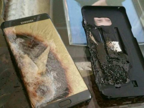 Note 7, nuova esplosione a New York