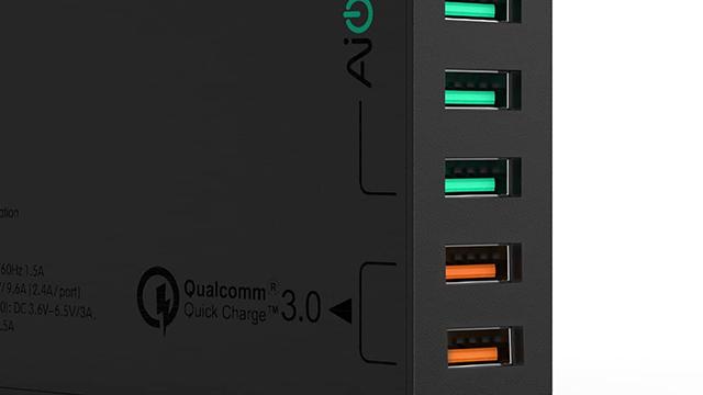 TechnoBlitz.it Recensione AUKEY Quick Charge 3.0 Caricabatteria