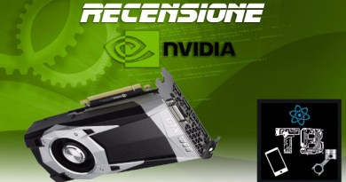 TechnoBlitz.it Recensione Nvidia GTX 1060 Founder's Edition 6GB