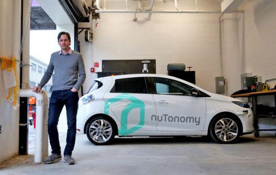 Auto nuTonomy a Boston