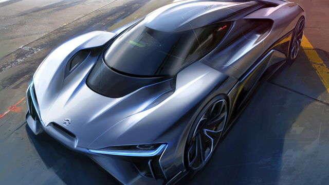 TechnoBlitz.it NIO EP9: record di velocità per veicoli autonomi al COTA