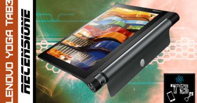 TechnoBlitz.it Recensione Lenovo Yoga Tab 3 Pro