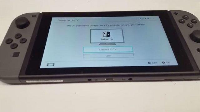 TechnoBlitz.it Il sistema operativo di Nintendo Switch trapelato in video