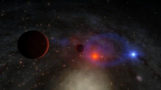 TechnoBlitz.it X9: il binario nana bianca-buco nero con minor raggio orbitale