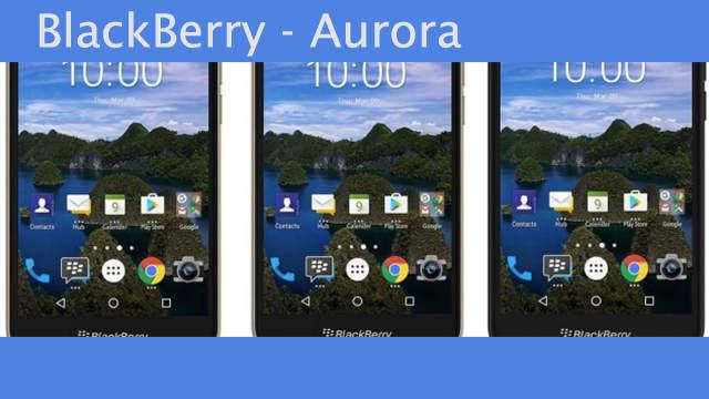 TechnoBlitz.it Aurora - BlackBerry lanciato sul mercato Indonesiano