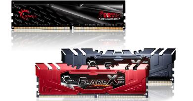 TechnoBlitz.it G.Skill Flare X: memorie RAM DDR4 a 3466 MHz per i nuovi AMD Ryzen 7