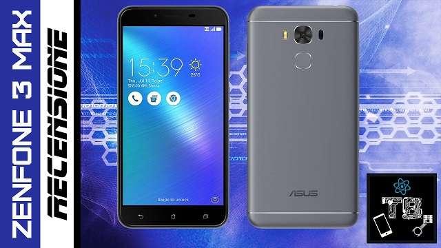 TechnoBlitz.it Recensione Asus Zenfone 3 Max: Batteria e Usabilità al top