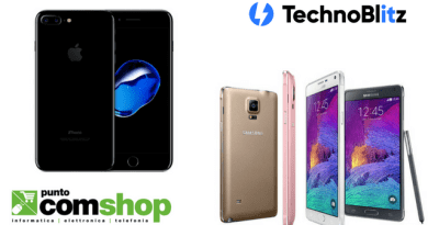 TechnoBlitz.it Puntocomshop.it: nuove interessanti offerte per iPhone 7 Jet Black e Note 4