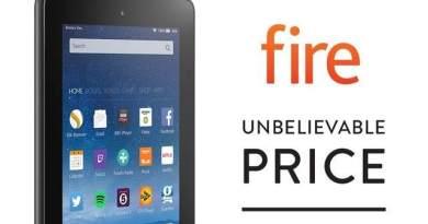 TechnoBlitz.it Amazon Fire Tablet in offerta a 39.99$: 10$ in meno fino al 15 Aprile
