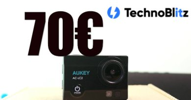Recensione action cam Aukey AC-LC2 4K, impermeabile + accessori