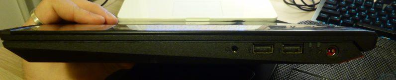 acer predator helios 300 - lato destro