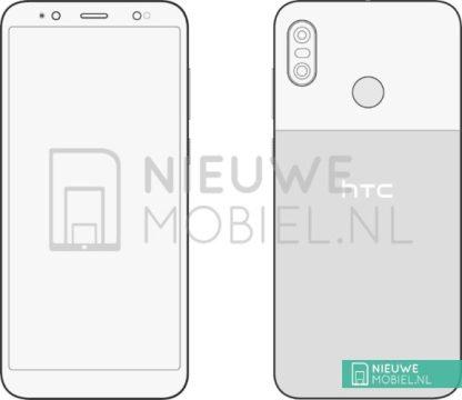 HTC U12 Life compare in uno schizzo: avrà una dual camera verticale