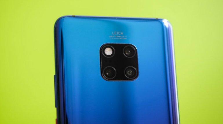 Huawei P30 avrà tre fotocamere e zoom ottico fino a 5x