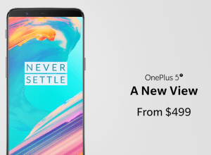 OnePlus unveils OnePlus 5T with immersive display