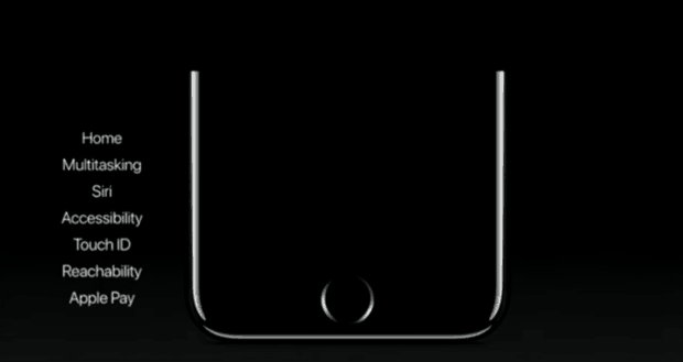 home button apple iphone