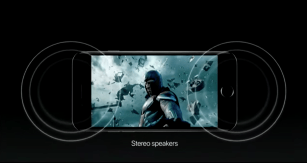 iphone stereo speakers