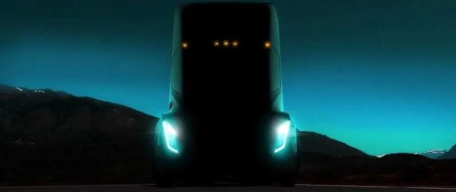 Tesla's electric semi-truck 2017