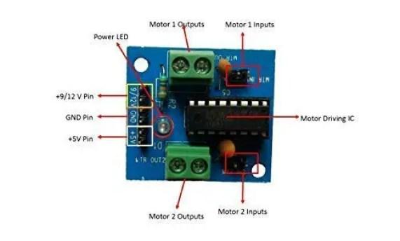 Bridge Motor Driver Circuit Diagram Motor Repalcement Parts And