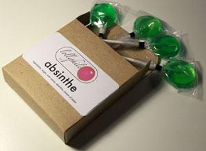 absinthe lollipops