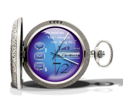 pocket watch computer