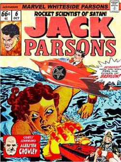 jack parsons comic