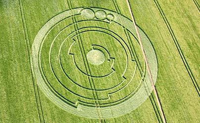 most complicated crop circle