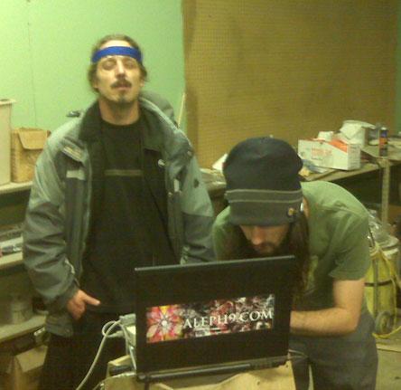 Chris Titan using Ikipr\'s EEG MIDI Interface at EsoZone