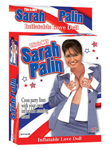 sarah palin blow-up doll