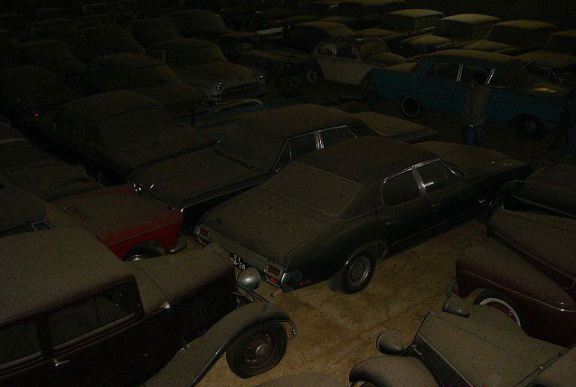 Cars Found Abandoned Barn